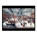 Old Postcard -Marylebone Station, London