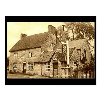 Old Postcard, Masons Arms, Wilmcote