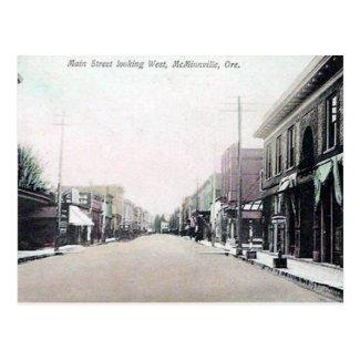 Old Postcard - McMinnville, Oregon, USA