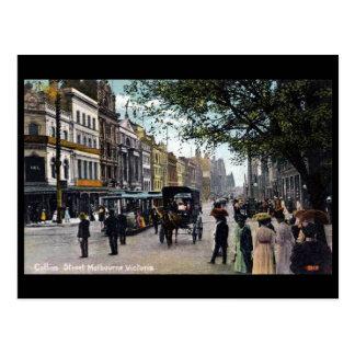 Old Postcard - Melbourne, Victoria