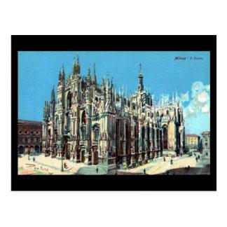 Old Postcard - Milan, Duomo