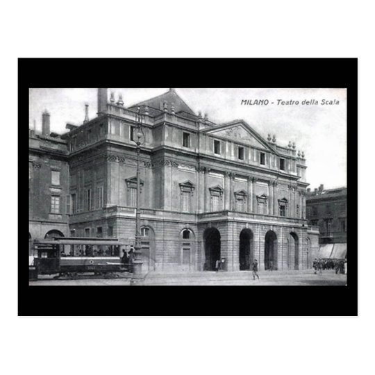 Old Postcard - Milan, La Scala Opera House
