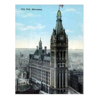 Old Postcard - Milwaukee, Wisconsin, USA.