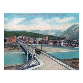 Old Postcard - Missoula, Montana, USA