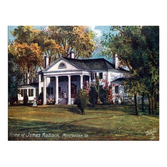 Old Postcard - Montpelier, Virginia, USA