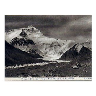 Old Postcard - Mount Everest
