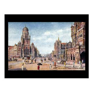 Old Postcard - Mumbai, Victoria Terminus