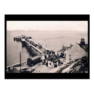 Old Postcard - Mumbles Pier, near Swansea