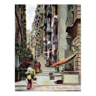 Old Postcard - Naples, Italy