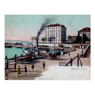 Old Postcard - Neuchâtel, Switzerland