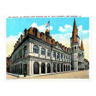 Old Postcard - New Orleans, Louisiana, USA
