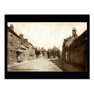 Old Postcard, New St, Shipston-on-Stour, Warwicksh Postcard