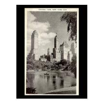 Old Postcard - New York City, Central Park Postcard