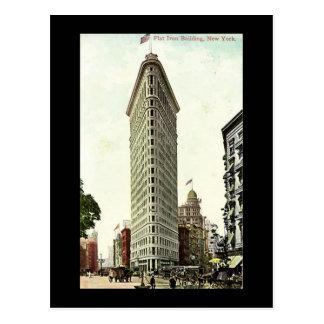 Old Postcard, New York City, Flat Iron Building Postcard