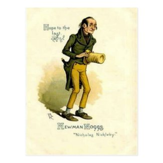 Old Postcard - Newman Noggs -