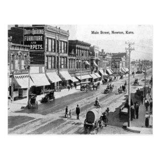 Old Postcard - Newton, Kansas