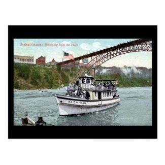 Old Postcard - Niagara Falls, Maid of the Mist