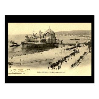 Old Postcard, Nice, Jetee Promenade Postcard