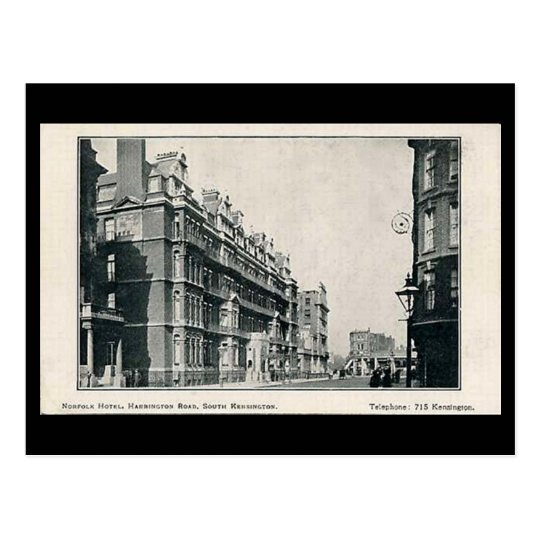 Old Postcard - Norfolk Hotel, South Kensington, Lo