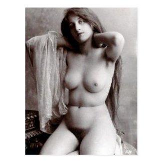 Old Postcard - Nude
