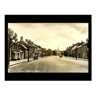 Old Postcard - Olney, Buckinghamshire