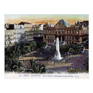 Old Postcard - Oran, Algeria