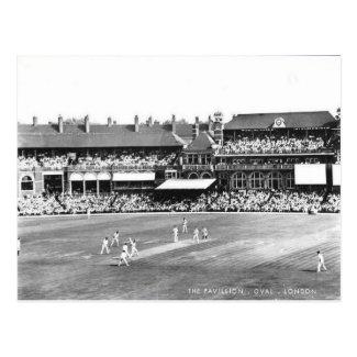 Old Postcard - Oval Cricket Ground, London