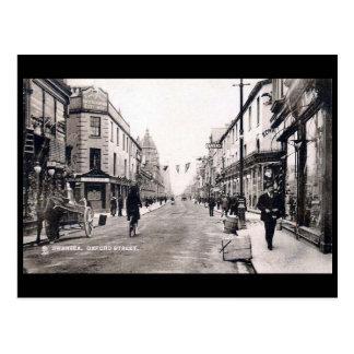 Old Postcard - Oxford Street, Swansea