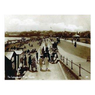 Old Postcard - Paignton, Devon