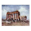 Old Postcard - Parthenon, Athens