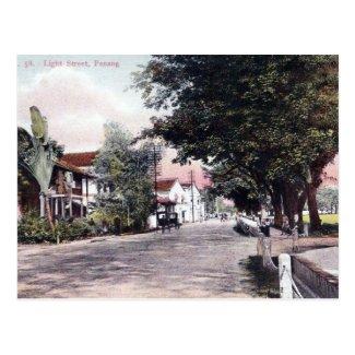 Old Postcard - Penang, Malaysia