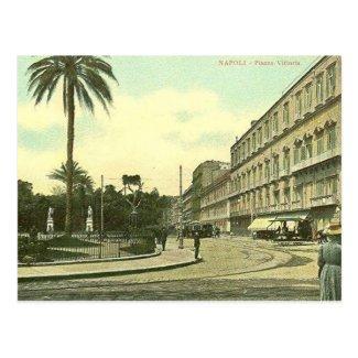 Old Postcard - Piazza Vittoria, Napoli