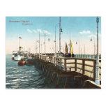 Old Postcard - Pier, Sopot, Poland