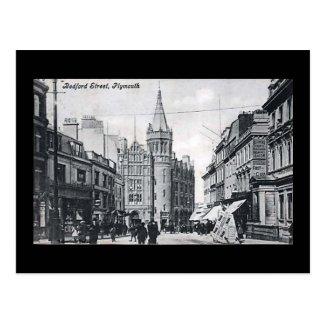 Old Postcard, Plymouth, Devon
