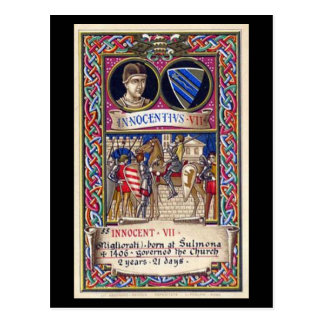 Old Postcard - Pope Innocent VII