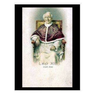Old Postcard - Pope Leo XIII