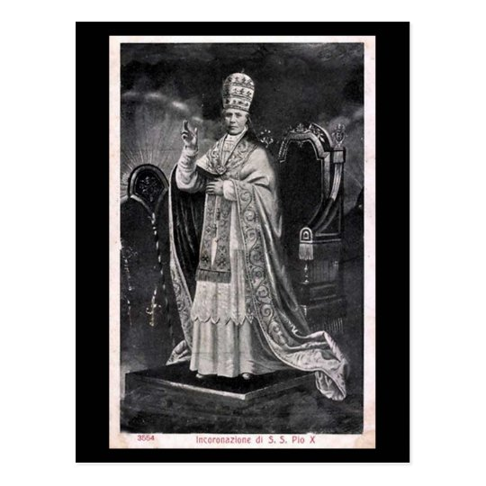 Old Postcard - Pope Pius X