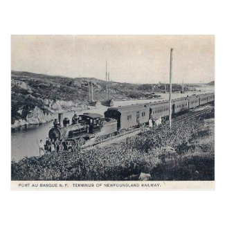 Old Postcard - Port-aux-Basques, Newfoundland