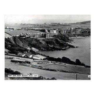 Old Postcard - Port Erin, Isle of Man