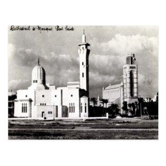 Old Postcard - Port Said, Egypt
