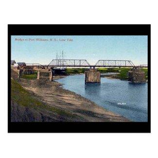 Old Postcard - Port Williams, Nova Scotia, Canada
