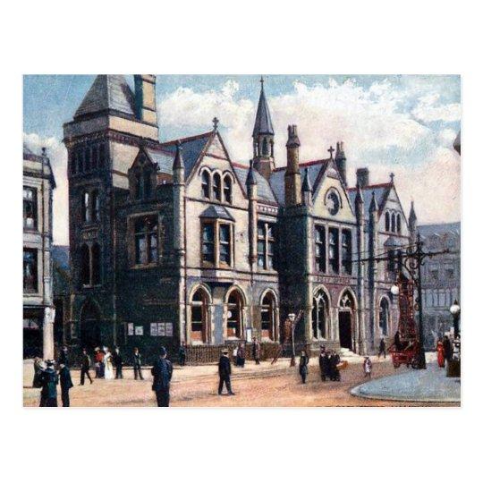 Old Postcard - Post Office, Halifax, Yorkshire