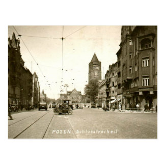 Old Postcard - Poznan, Poland