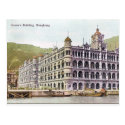 Old Postcard - Queen's Building, Hong Kong