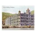 Old Postcard - Queen's Building, Hong Kong