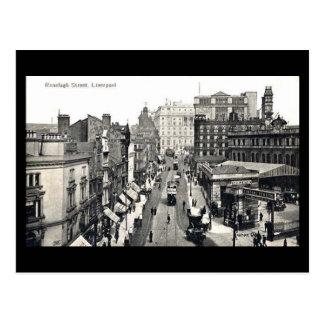 Old Postcard - Ranelagh St, Liverpool