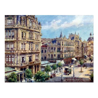 Old Postcard - Rio de Janeiro