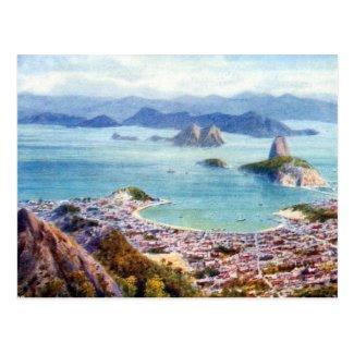 Old Postcard - Rio de Janeiro, Brazil
