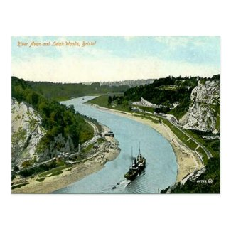 Old Postcard - River Avon, Bristol