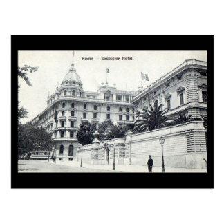Old Postcard - Rome, Excelsior Hotel